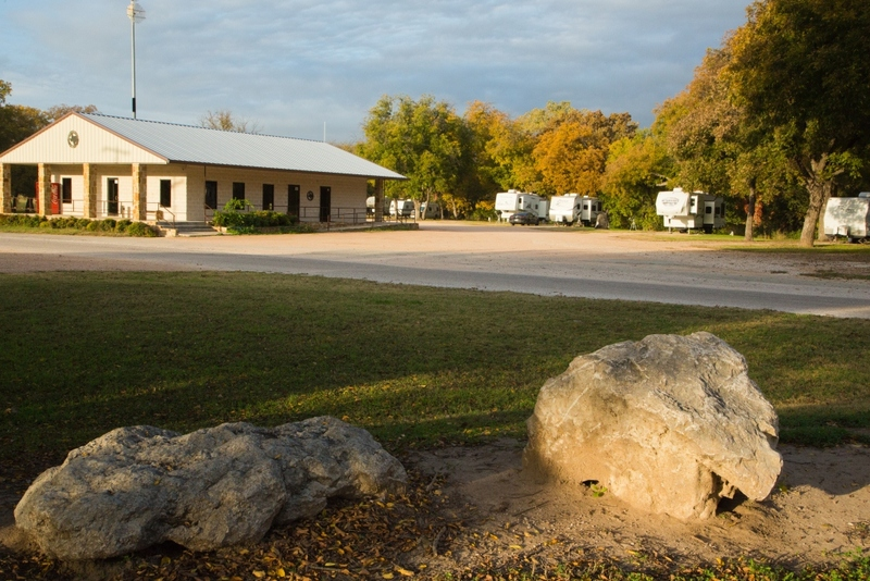 Image of the RV Park at San Saba